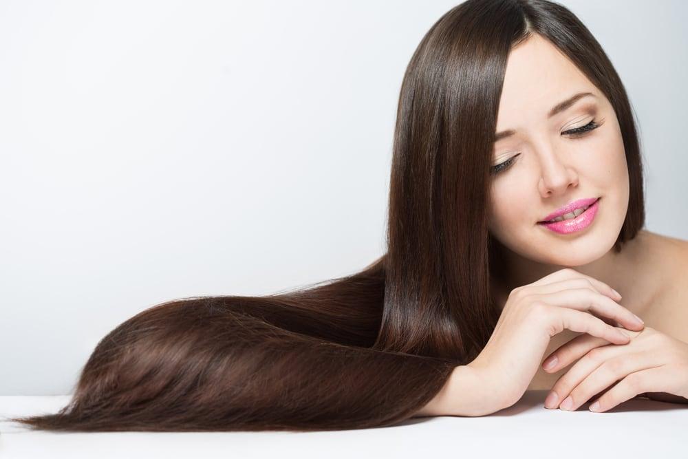 Bổ sung collagen cho mái tóc