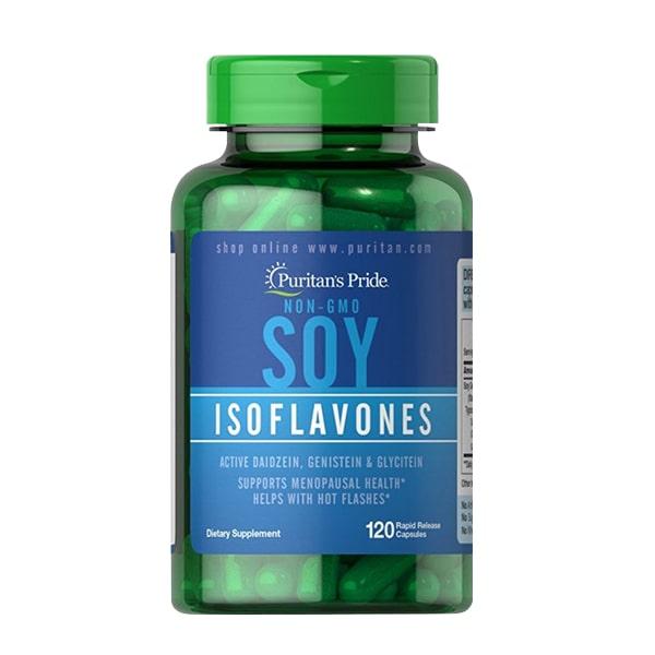 Công dụng của viên uống soy isoflavones