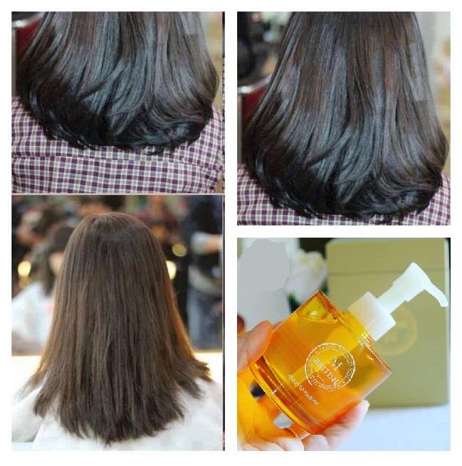 Dùng serum phục hồi tóc