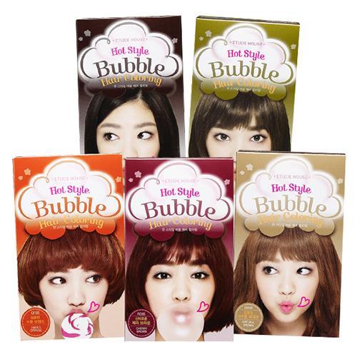 Dầu gội nhuộm tóc Etude House Hot Style Bubble Hair Coloring