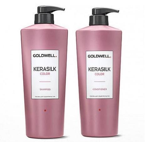 Dầu gội bảo vệ màu nhuộm Goldwell Kerasilk Color Shampoo