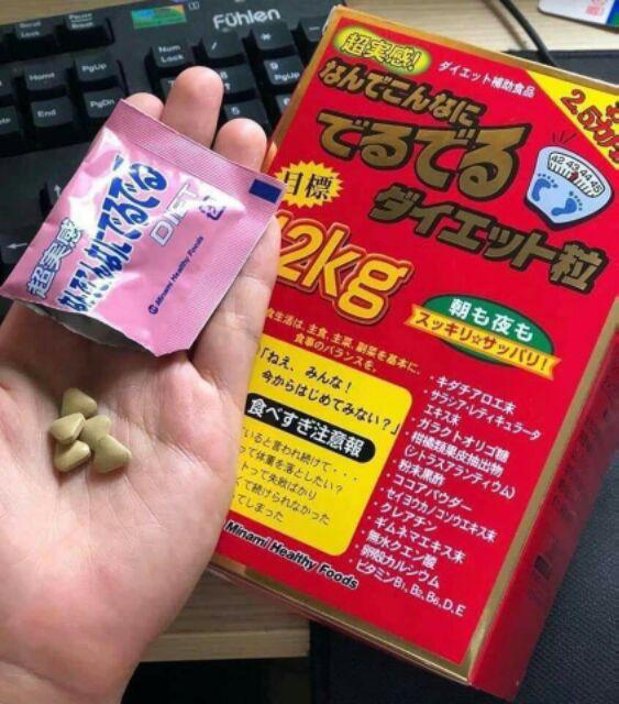 Thành phần của giảm cân 12kg Deru Deru của thương hiệu Minami Health