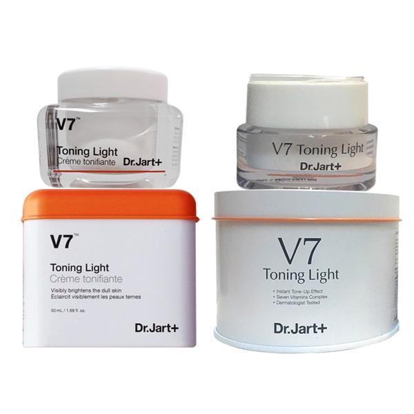 Kem V7 Toning Light khác gì so với các dòng kem dưỡng trắng khác?