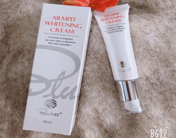 Kem trị thâm nách Armpit Whitening Cream Blue Pure của Úc