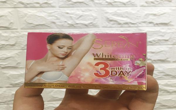 Kem trị thâm nách trắng da Serein Thái Lan 40G