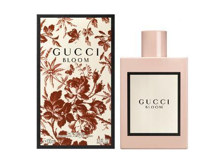Không giống với những dòng nước hoa khác, Gucci Bloom được thiết kế dưới dạng chai, chất liệu sứ tráng men