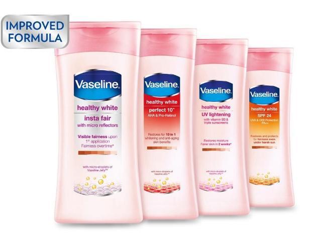 Sữa dưỡng thể Vaseline Healthy White có tốt không?