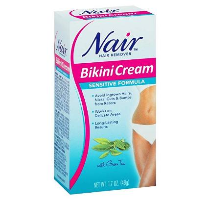 Nair Sensitive Formula Bikini Cream