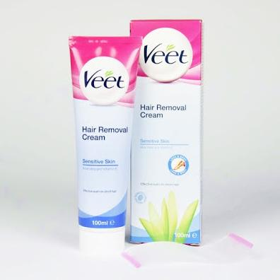Veet Hair Removal Cream Silk & Fresh cho da nhạy cảm