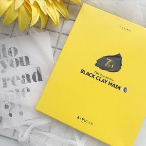 REVIEW mặt nạ Barulab 7 in 1 Total Solution Black Clay Mask