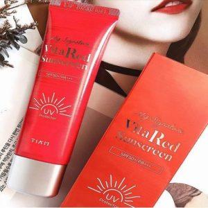 Thành phần của Tiam Vita Red Sunscreen