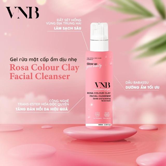 Gel rửa mặt Rosa Colour Clay Facial Cleanser 100ml