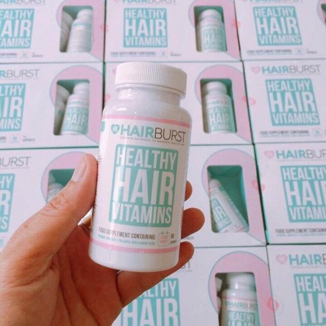 Thành phần có trong HairBurst Healthy Hair Vitamins