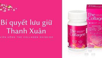 Lợi ích của việc bổ sung Collagen từ bên trong bằng Viên uống The Collagen Shiseido