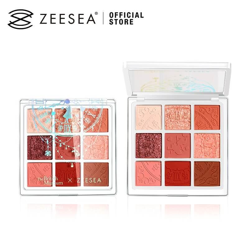 Phấn mắt Zeesea có mấy loại?